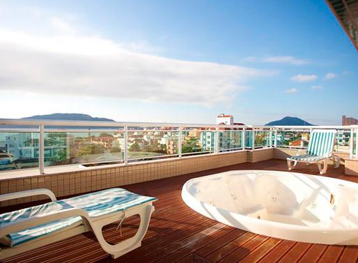 Férias de Julho em Florianópolis no Oceania Park Hotel