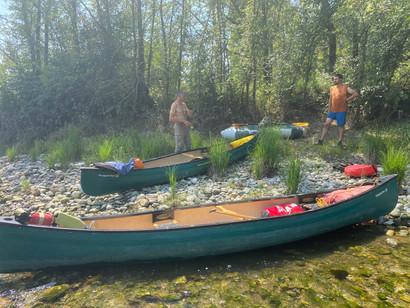 escursione-in-canoa-canadese