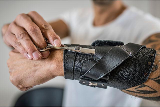 Wristband Barbe Coiffeur Schere Halter