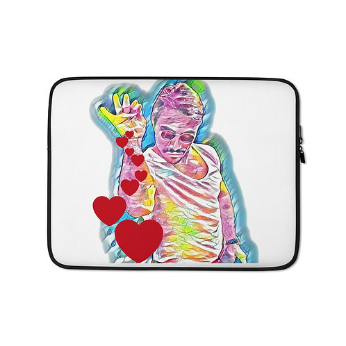 Salt Bae Hearts Laptop Sleeve