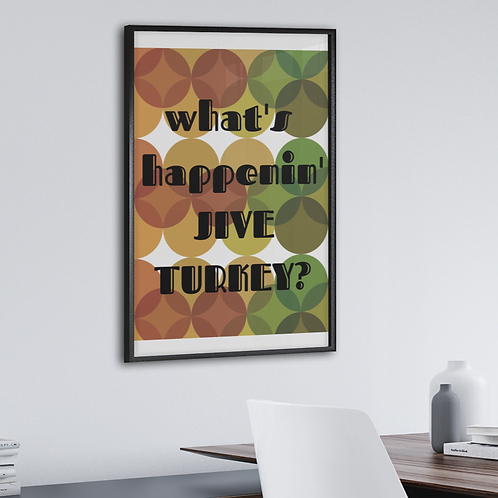 Jive Turkey Retro Circles