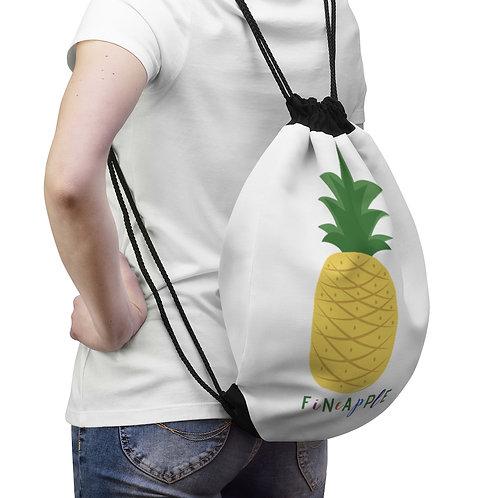 Fineapple Pineapple Drawstring Bag