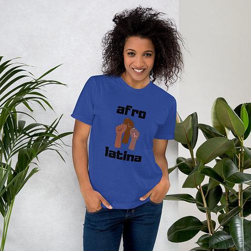 Afro-Latina Melanin Fists Jersey T-Shirt