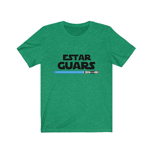 Estar Guars Spanish Star Wars Unisex Jersey Short Sleeve Tee
