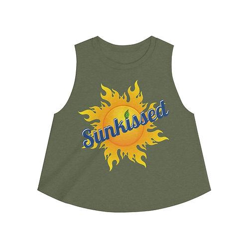Sunkissed Skin soda look-a-like Logo Women's Crop top