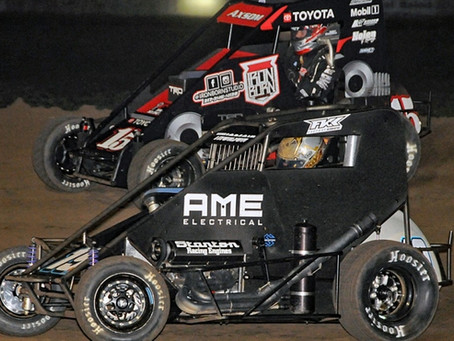 THORSON REIGNS IN USAC'S CHAD McDANIEL MEMORIAL AT SOLOMON VALLEY