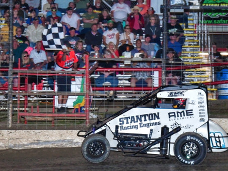 THORSON TAKES REINBOLD-UNDERWOOD TO FIRST USAC MIDGET WIN IN T-TOWN