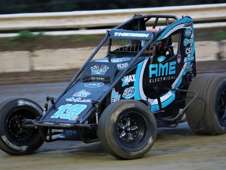 THORSON GOES FULL-TIME USAC SPRINT CAR RACING WITH REINBOLD-UNDERWOOD