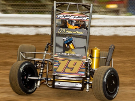 AFTER HOT START, THORSON BIDS FOR MORE AT PORT CITY