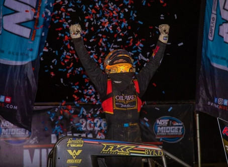 THORSON MOTORS TO PHOTO FINISH VICTORY AT KOKOMO