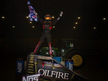 THORSON THRILLS WITH 15TH TO 1ST CHARGE AT SHAMROCK CLASSIC