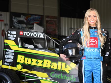 BuzzBallz Partners with Female Midget Race Car Driver, Taylor Reimer