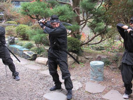 Ninja Experience in Old Samurai Residence
