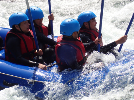 River Rafting & Cnyoning in a Mountain