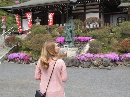 """""""Shiofune-kannonji Temple"""" Historic Temple with a 15 meter tall statue of Goddess of mercy"""
