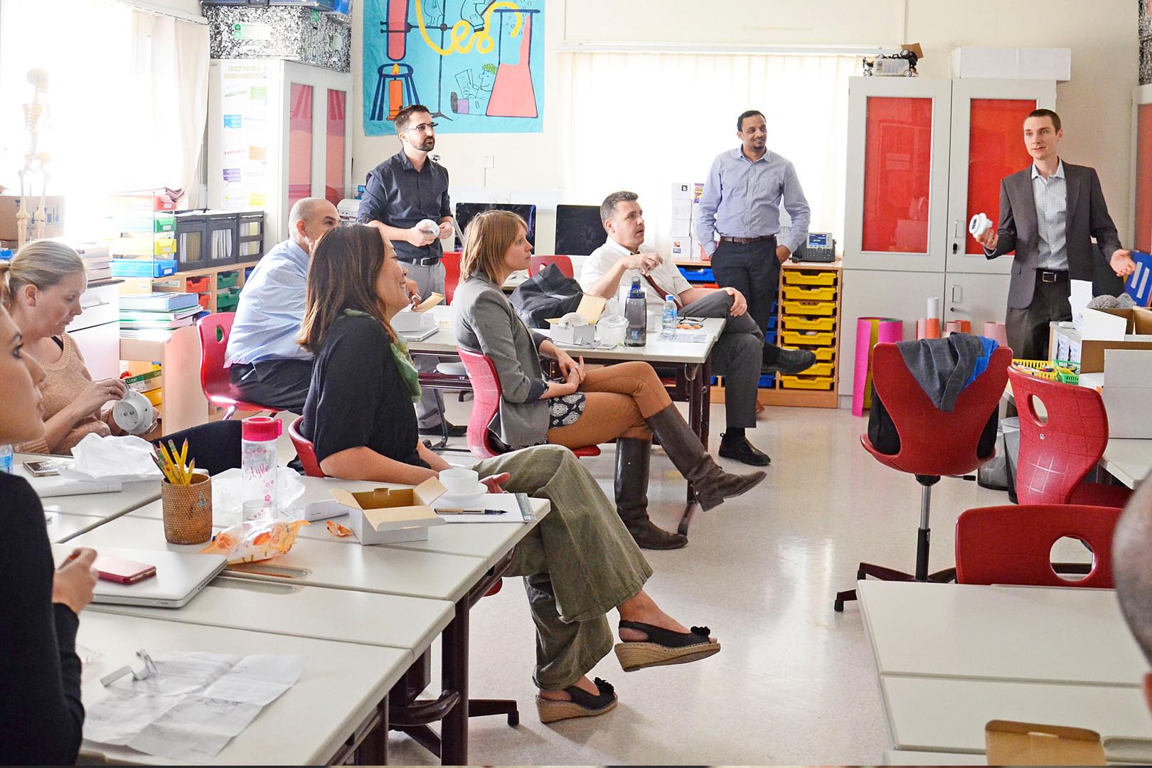 Workshops at Schools