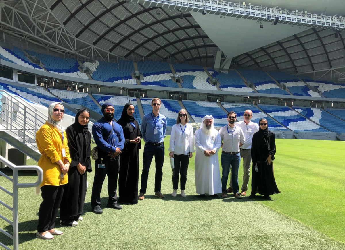 Site Visit to Al Janoub Stadium