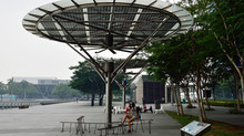 Breeze Shelters / Solar Powered Urban Design