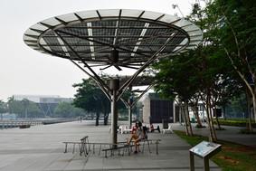 Breeze Shelters / Solar Powered Urban Design