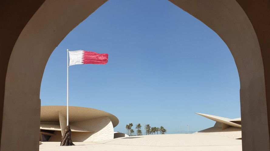 Flag of Glory by Ahmad Al Bahrani