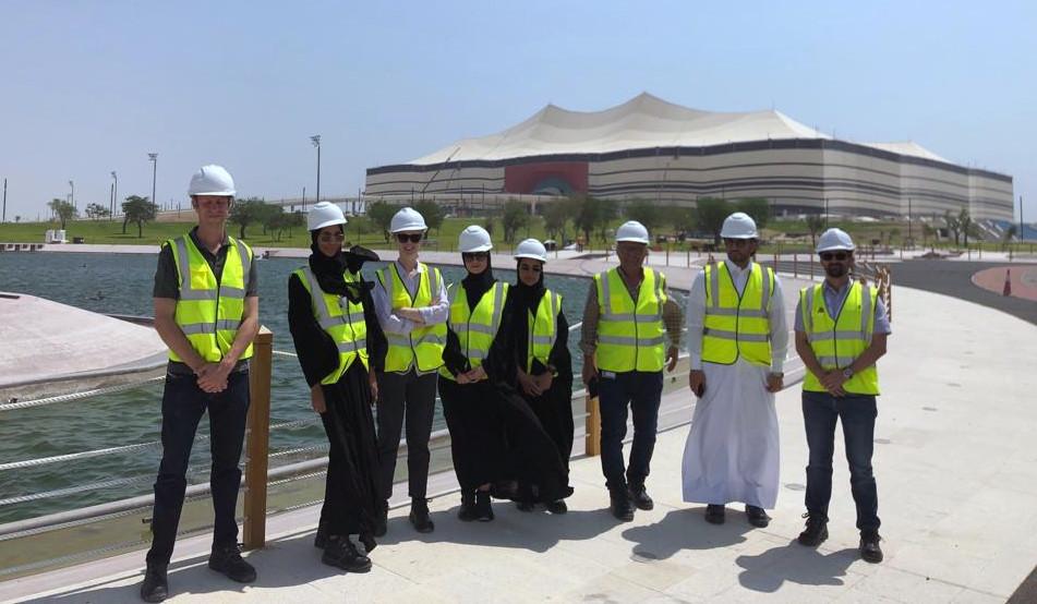 Site Visit to Al Bayt Stadium