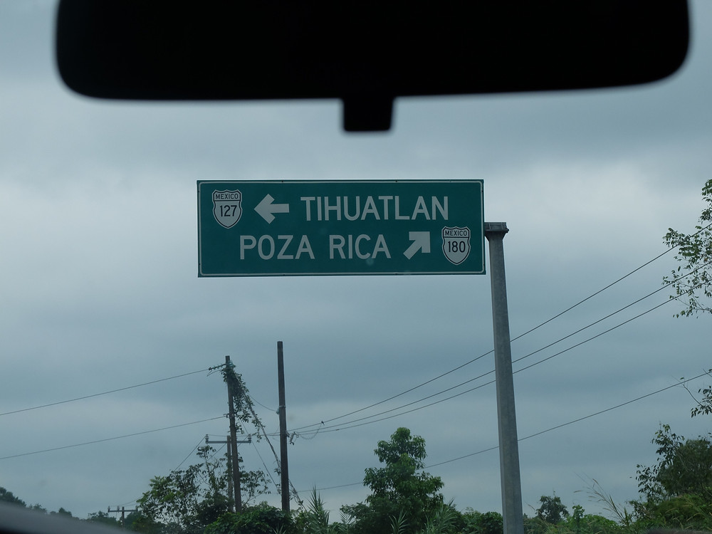 Somewhere along the road - Poza Rica... Close Enough!