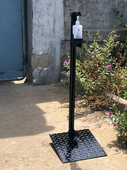 D.O Motorsports Paddle Operated Hand Sanitizer Stand