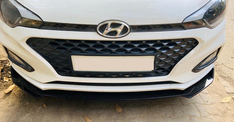 Front Bumper Lip for Hyundai i20