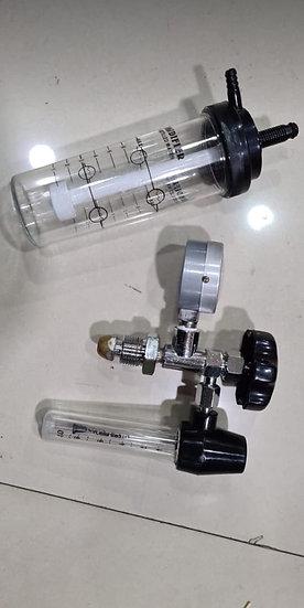 Oxygen Regulator with Flowmeter