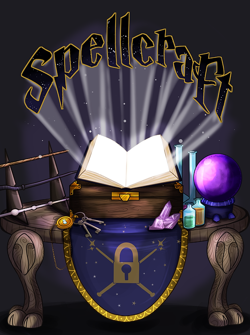 Spellcraft: A Play home escape room in a box