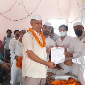 राजेश गुप्ता बनें  शहर कांग्रेस सेवादल में सचिव