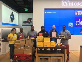 OJS, Barebershop Men of Prayer Donate To Hurricane Harvey Victims