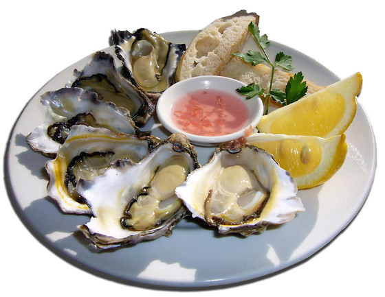 Oesters, snot of delicatesse?