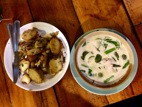 Thaise curry: groene curry