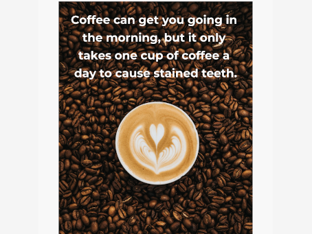 Does Coffee Stain My Teeth?