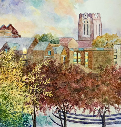 Ayers Hall at UT  (digital download)