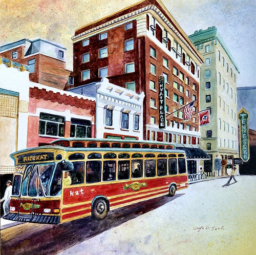 Knoxville Trolley (digital download)