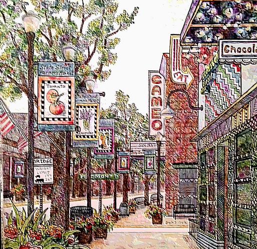 Downtown Bristol, Virginia