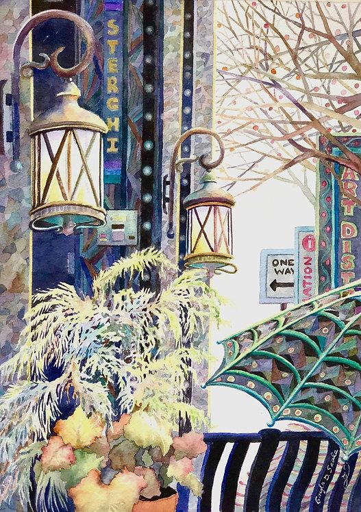 100 Block Street Lamps  Knoxville, TN