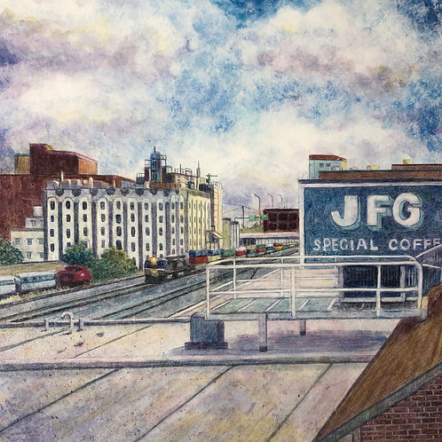 JFG and Old City from the Gay Street Viaduct in Knoxville, Tennessee