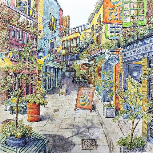 Neal's Yard, London UK