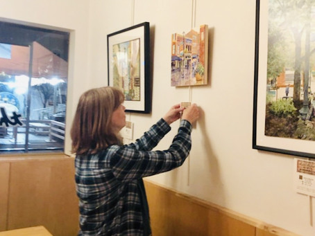 2018 Knoxville Cityscape Art on Display