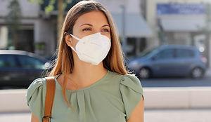 COVID-19 Pandemic Coronavirus Woman in c