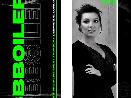 Blanka Barbara joins Deep Radio London to host her show BBBoiler Welcomes