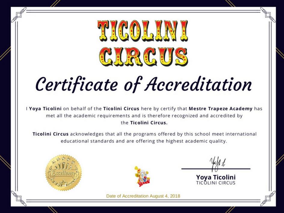 Ticolini Circus (USA)