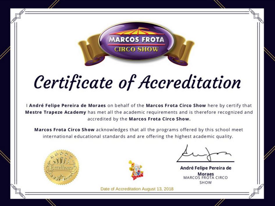 Marcos Frota Circo Show (Brasil)