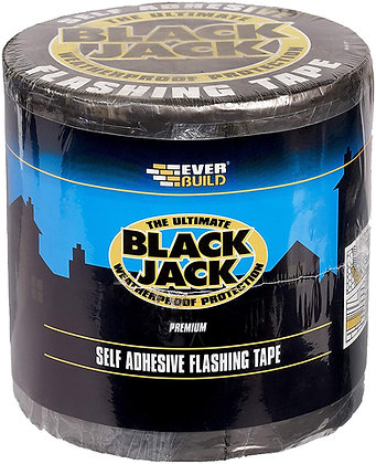 Everbuild Black Jack Flashing Tape 10m Roll 300mm