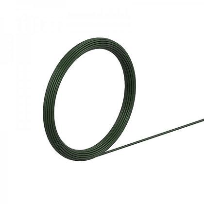 Gatemate 2/1.4mm 1/5kg Tying Wire Green PVC 5420029