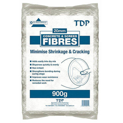 TDP Fibres For Cement Or Screed 900g