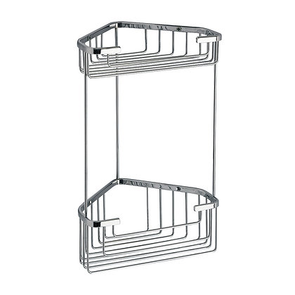 Gedy Double Corner Deep Basket Chrome (2482-13)